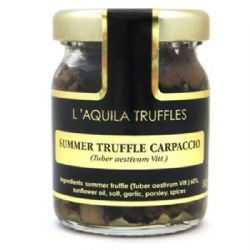 Black Summer Truffle Carpaccio 50g | Sliced | Italian | Buy Online | UK | London